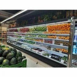 Super Market Fruits Open Chiller