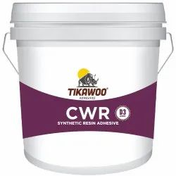Tikawoo CWR Synthetic Resin Adhesive, Bucket, 20Kg, 50 kg