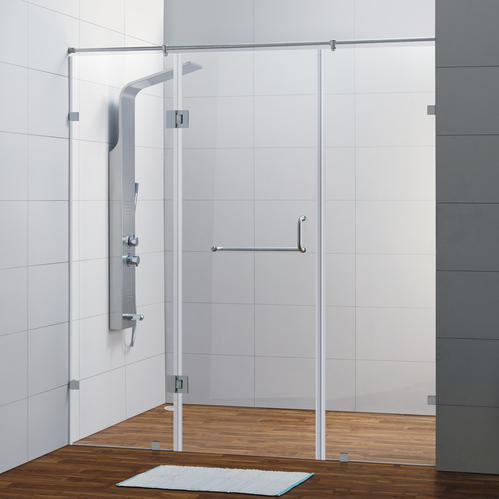 Glass Shower Partition at Rs 800 /square feet | शावर ...