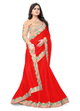 Border Work Silk Saree