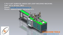 MASK EAR LOOP WELDING MACHINE