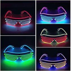 El Wire Goggles Eyeglasses