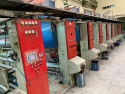Second Hand 8 Color Rotogravure Printing Machine