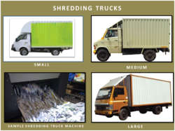 Shredding Truck
