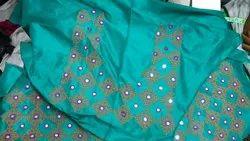 Feminine Party Churidar Material, For Dry Wash