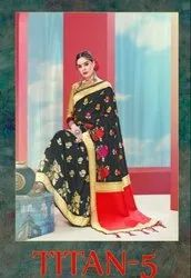 YNF Titan Vol-5 Banarasi Silk Saree