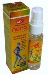 MDHL Nano Pain Relief Spray, Packaging Size: 30 Ml, Prescription