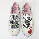 Ladies Painted Shoes