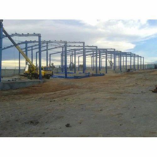 Mild Steel Pre Engineered Building Structure