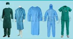 Patient Non Woven Isolation Gown