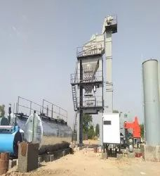 160 TPH Asphalt Batch Mix Plant With RAP