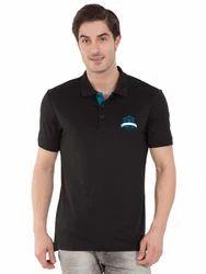Polo T Shirt Men Jockey Black Sport Polo T-Shirt