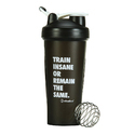I Shake Crossfit Black Shaker Bottle, Capacity: 600 Ml, Packaging Type: Carton Package