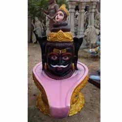 FRP Shivling Shape Statue