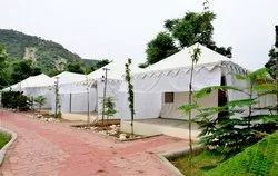 Steel Frame Structures Residential Projects Resort Tent Hotel, Size: 12x24