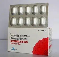 Amoxycillin and Potassium