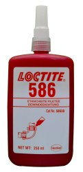Industrial Grade Loctite 596 High Temperature Red Silicone, 85 gms