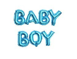 Baby Boy & Girl Foil Balloon for Baby Shower Event