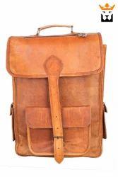 One Loop Leather Backpack