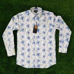 Printed Collar Neck Latest Designer Men''''S Formal Shirts, Machine wash