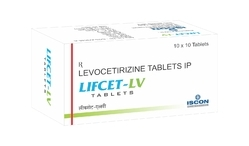 Lifcet Tab (Cetrizine Hydrochloride B.P 10 mg)