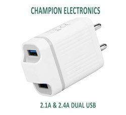 OEM Electric 2.1Amp Dual USB Ultrasonic Mobile Charger, for Mobile Charging