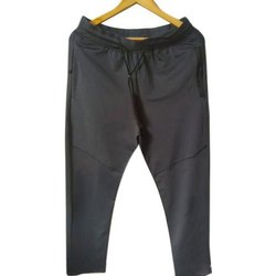 Drop Out Black Mens Printed Pyjama, Pockets: 2