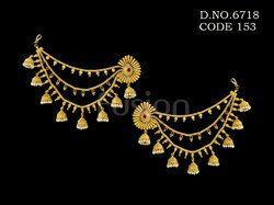 Traditional Bahubali Antique Earrings