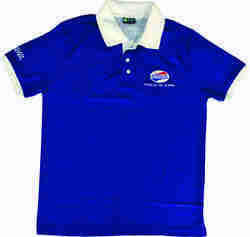Royal Blue Ladies Corporate T-shirts