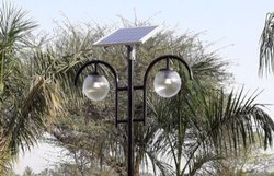 Solar Double Garden Light 6w