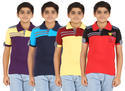 Cotton Collar Kids Bio Wash T Shirt S-2003