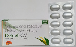 Cefixime 200mg and Clavulanic Acid 125mg Tablets