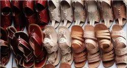 Formal Chamba Leather Chappal, Size: 4 To10