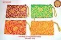 HandBags Rawsilk Embroidery