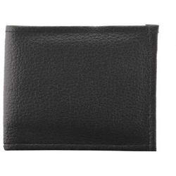 Black Also Available In Brown Quaffor Black Leather Wallet For Gents Boys, Size: Regular