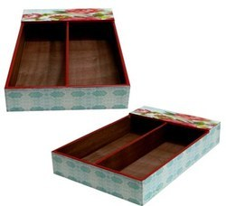 Digitally Printed Wooden Cutlery Trays