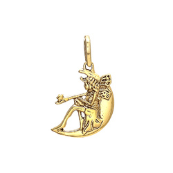 Attractive Handmade Beautiful Trendy Hot Fashionable Brass Gold Plated Womens Neck Pendant