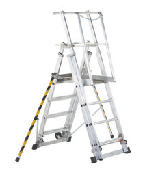 Mobile Telescopic Platform Ladder