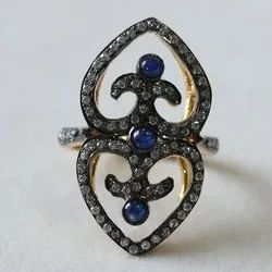 CaratPearl Victorian Ring