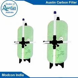Frp Ausitn Carbon Filter, Diameter: 2-3 Inch, Automation Grade: Automatic