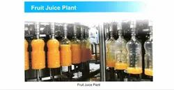 Automatic Pet Fruit Juice Plant