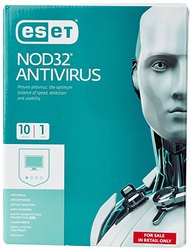 ESET Antivirus 2019 10 Pc 1 Year Email Delivery, Windows, 2018