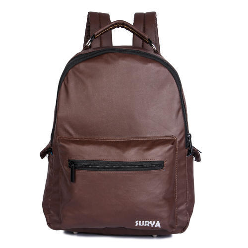 18c38732fa Female Brown Leather Backpack