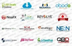 Multicolor Grapic Logo Designing Services, Size Of The Logo: Based On Requirments