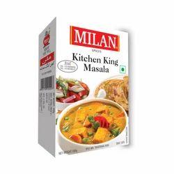 Milan Kitchen King Masala, Packaging Type: Box/Pouch