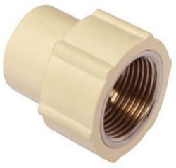 CPVC Brass Female Adapter