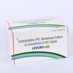 Acebrophylline(PR), Montelukast with Levocetirizine Sodium