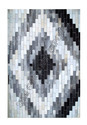 Black, Light Grey Sge Chevron Pattern Carpets, Packaging Type: Two Layer In Export Packing