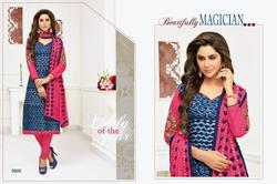 Rr Fashion Chitra Series 5601-5612 Stylish Party Wear Rayon Suit