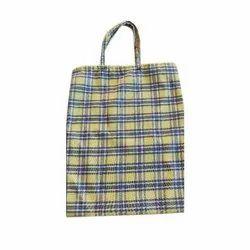 Checkered Vegetables Cloth Bag